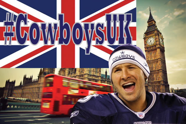 Dallas Cowboys Coin Regrettable 'CowboysUK' Hashtag for London Game