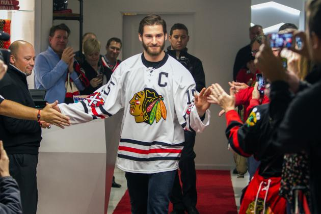 Blackhawks Reveal Winter Classic Jerseys  PHOTO  - Sports Videos and ... a4d0cd954