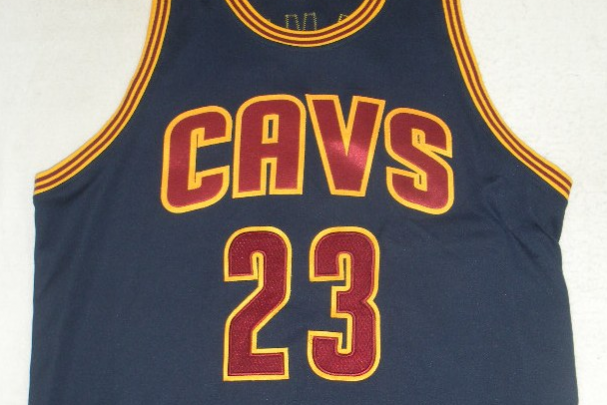 LeBron James' Navy Cleveland Cavaliers Home Opener Jersey Is Up for Auction