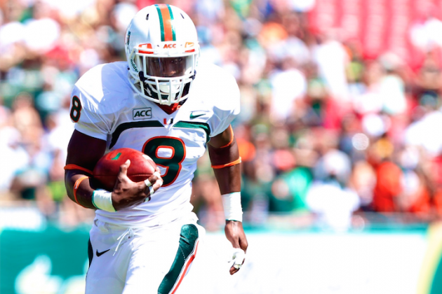 Miami Has the Tailback and the Incentive to Hold off a Florida State Comeback