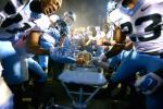 UNC Trashes Duke Locker Room After Win