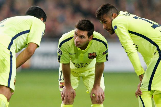 Barcelona Transfer News: Neymar and Luis Suarez Key to Lionel Messi's Future