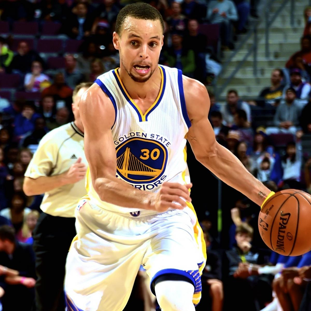 Warriors Come Out To Play Bleacher Report: Stephen Curry Injury: Updates On Warriors Star's Ankle And