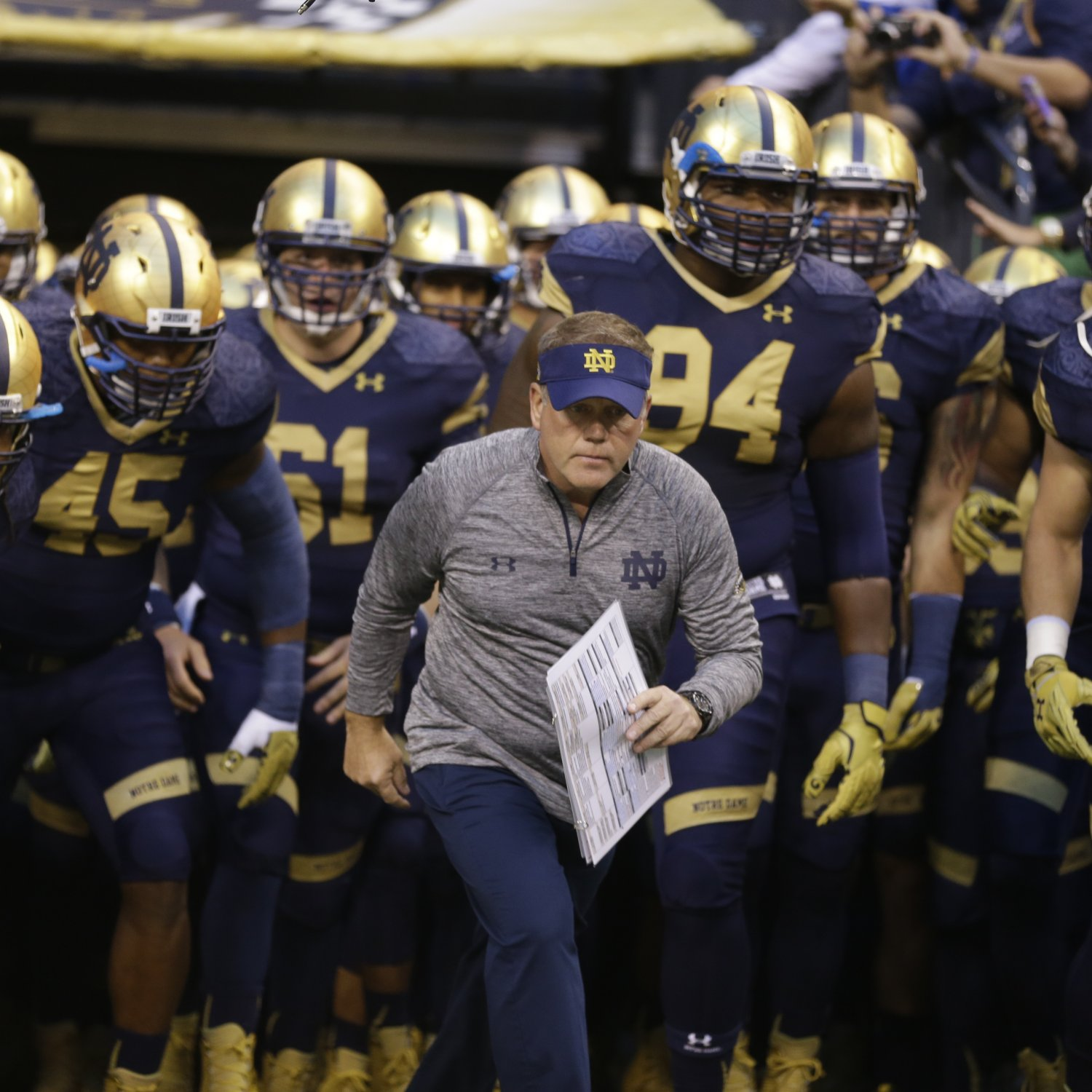 Latest News Updates: Notre Dame Recruiting 2015: Latest News, Rumors And Commit