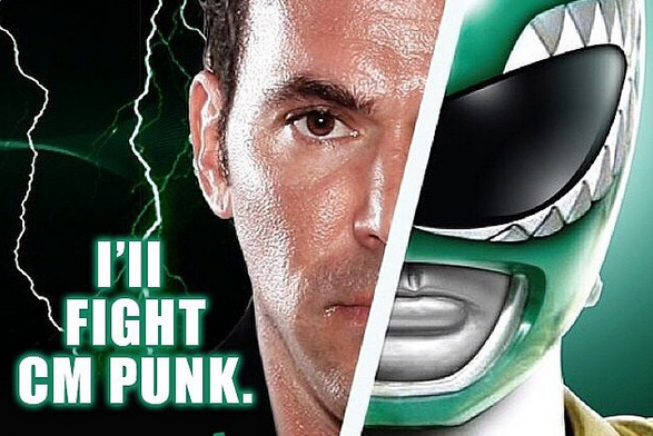 The Green Power Ranger Wants to Fight CM Punk in the UFC