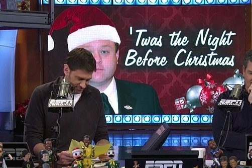 Frank Caliendo Impersonates ESPN Personalities While