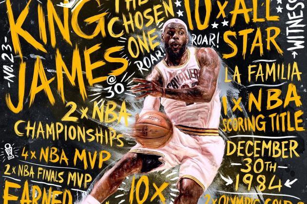 LeBron James Exclusive: At 30, How He Sees His Game, His Family and the Future