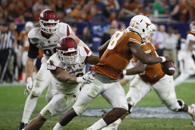 Texas Bowl 2014: Live Score, Highlights for Arkansas vs. Texas