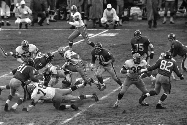 Packers vs. Giants in the 1962 NFL Championship Game: Jerry Kramer Does It All