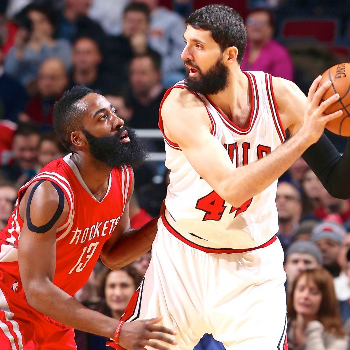 Houston Rockets Defensive Coach: Houston Rockets Vs. Chicago Bulls: Live Score, Highlights