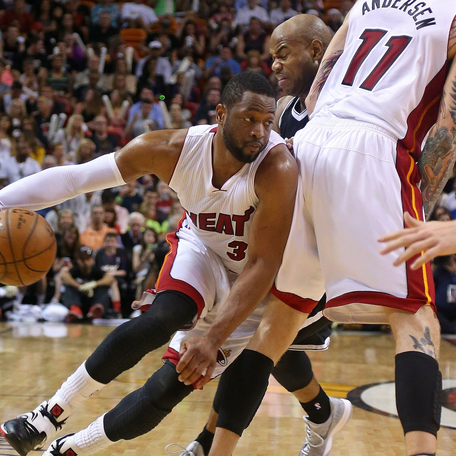 Miami Heat Playing With Depth Chart Fire Behind Dwyane Wade Bleacher Report