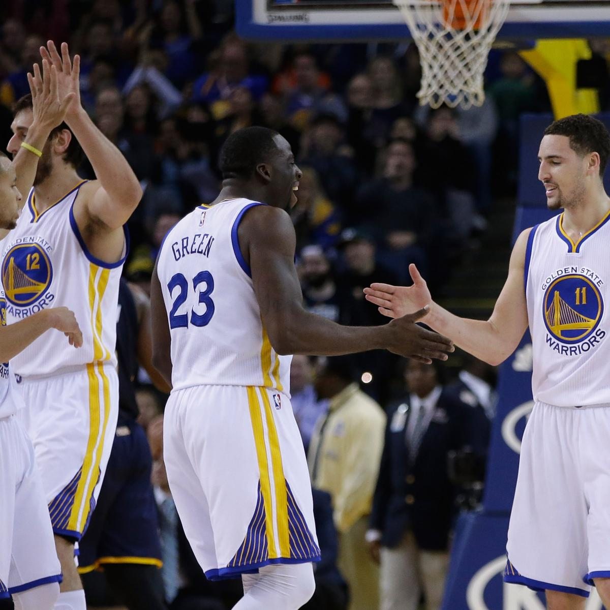 Warriors Come Out And Play Logo: Golden State Warriors Power Rankings: Rating Every Player