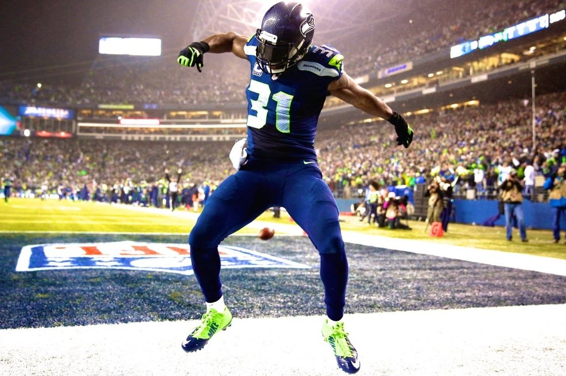 Kam Chancellor Defines Legion of Boom in Playoff Win over Panthers   Bleacher Report