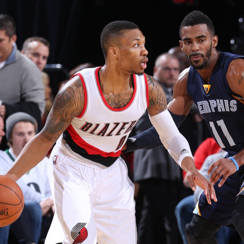 Portland Blazers Live Score: Portland Trail Blazers Vs. Memphis Grizzlies: Live Score