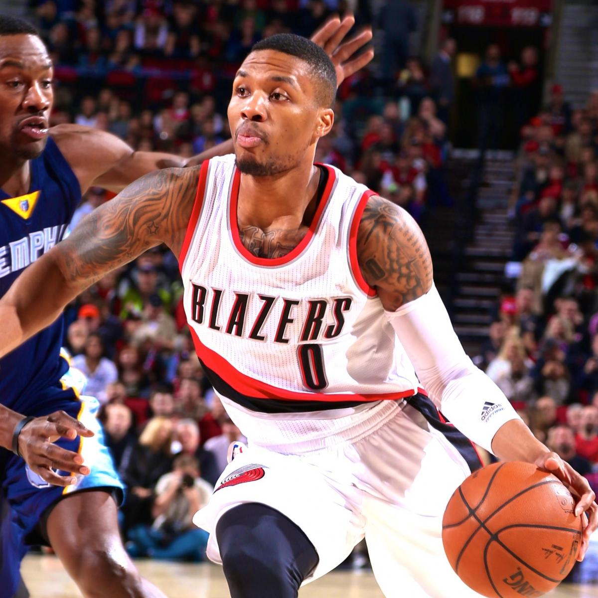 Blazers Score: Portland Trail Blazers Vs. Memphis Grizzlies: Live Score