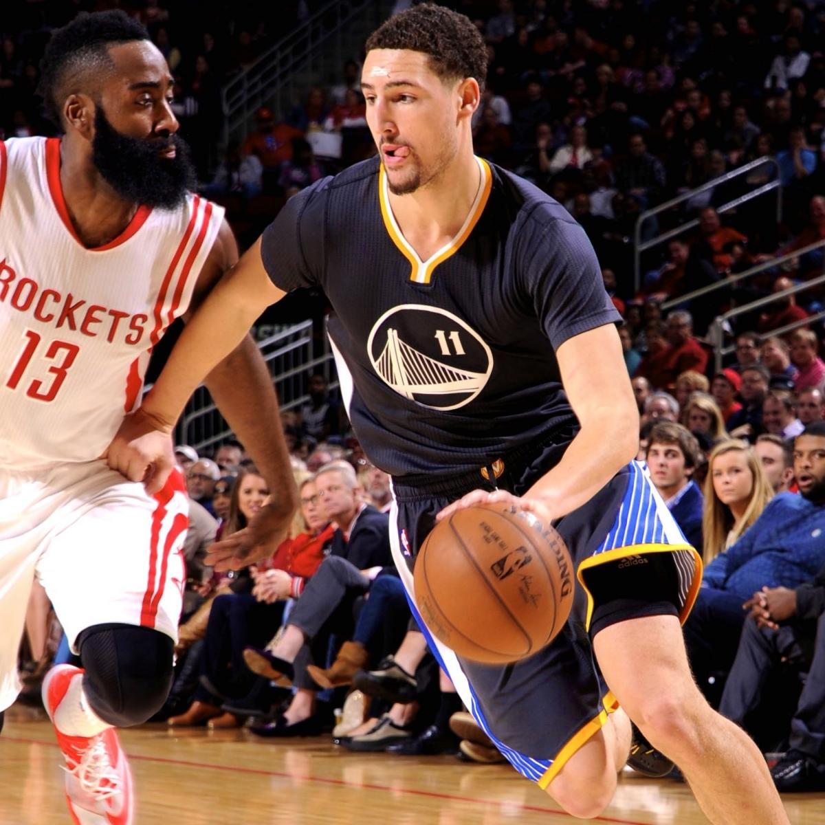 Golden State Warriors Vs. Houston Rockets 1/17/15: Video
