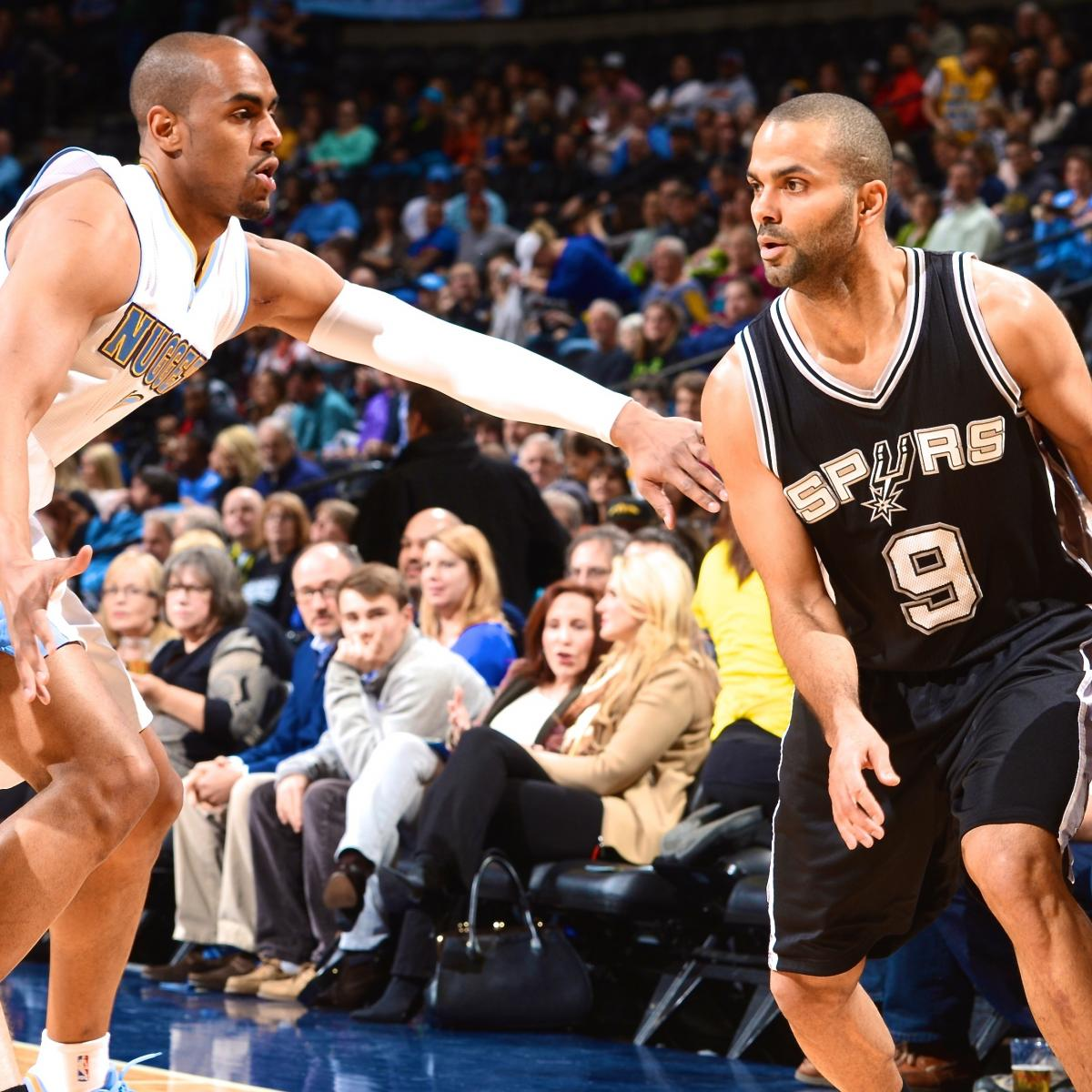 San Antonio Spurs Vs. Denver Nuggets: Live Score