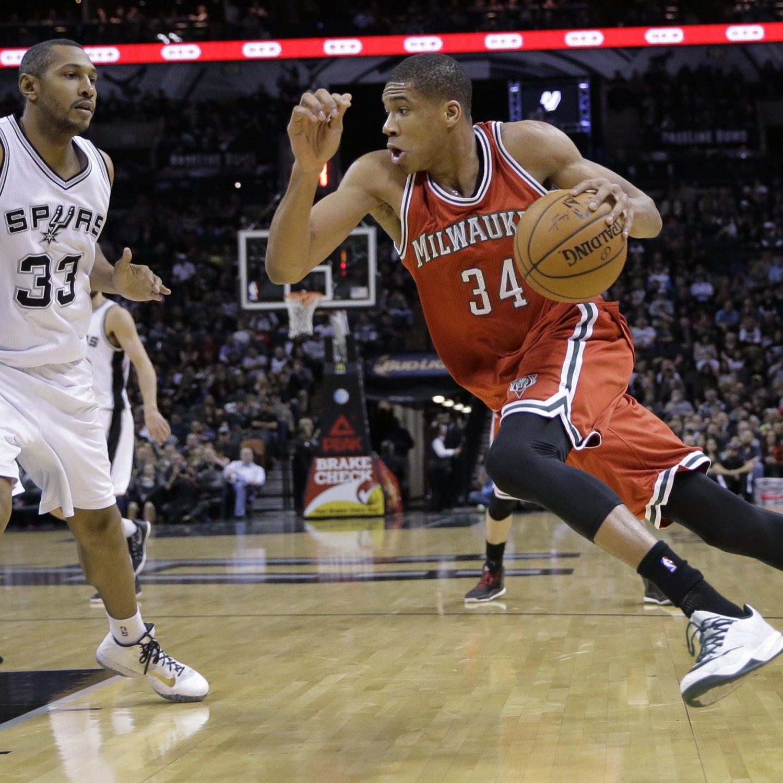 Warriors Vs Pistons Full Game Highlights: Milwaukee Bucks Vs. San Antonio Spurs 1/25/15: Video