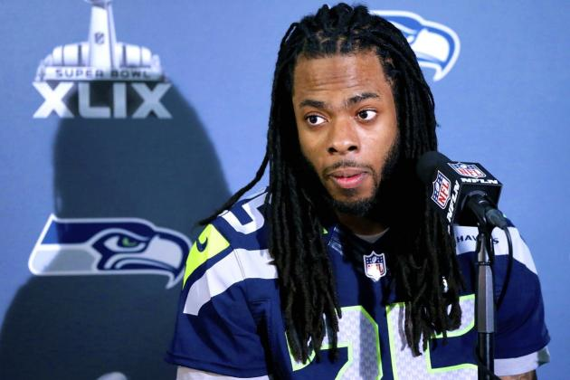Richard Sherman Comments on Possibility of Missing Super Bowl for Birth of Son