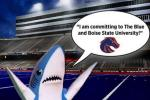 BSU HC Says Broncos Landed Perry's 'Left Shark'