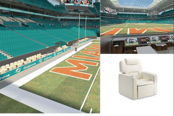 Miami dolphins sun life stadium renovations latest for Renovation drawings