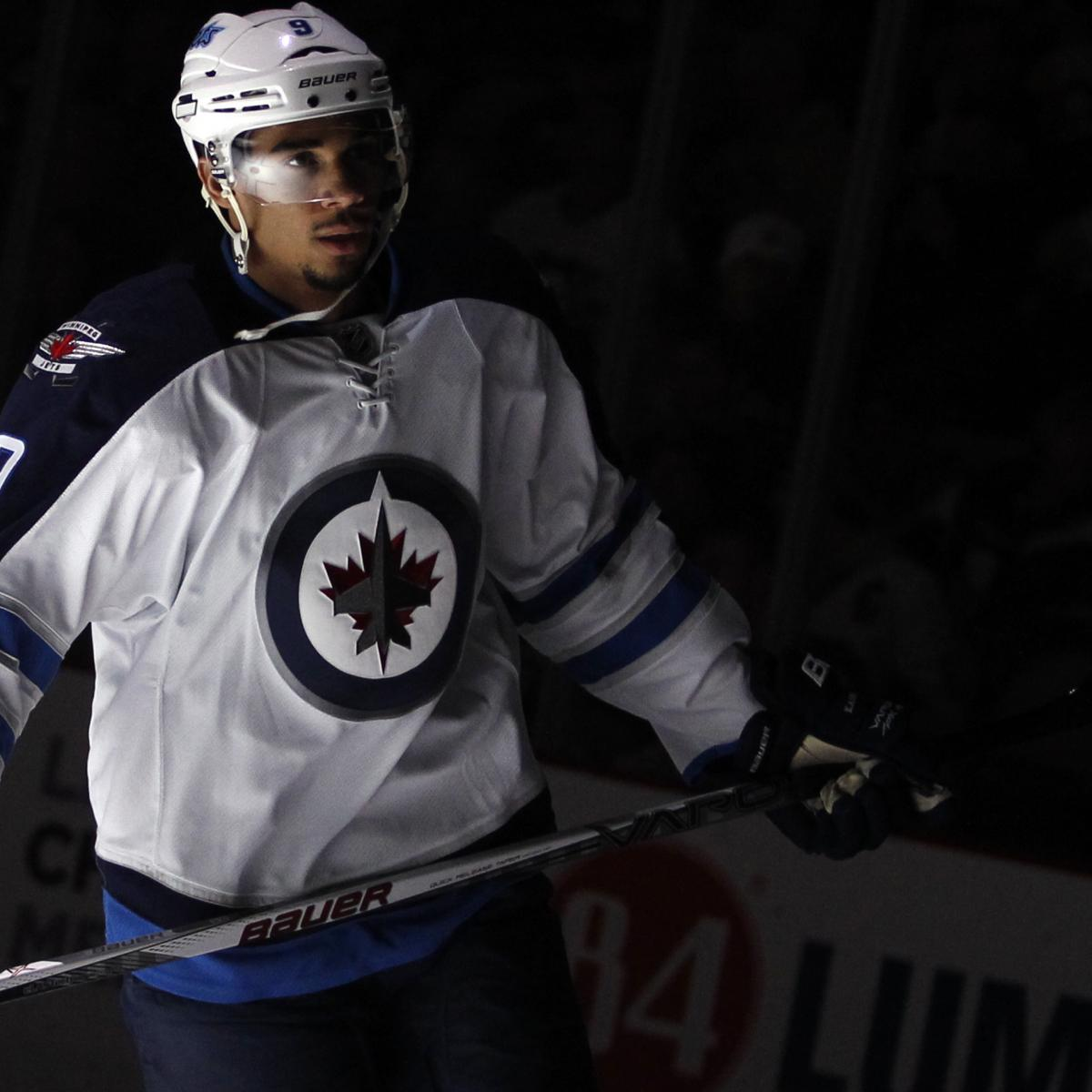 What Evander Kane's Injury Means for the Jets' Season, His ...