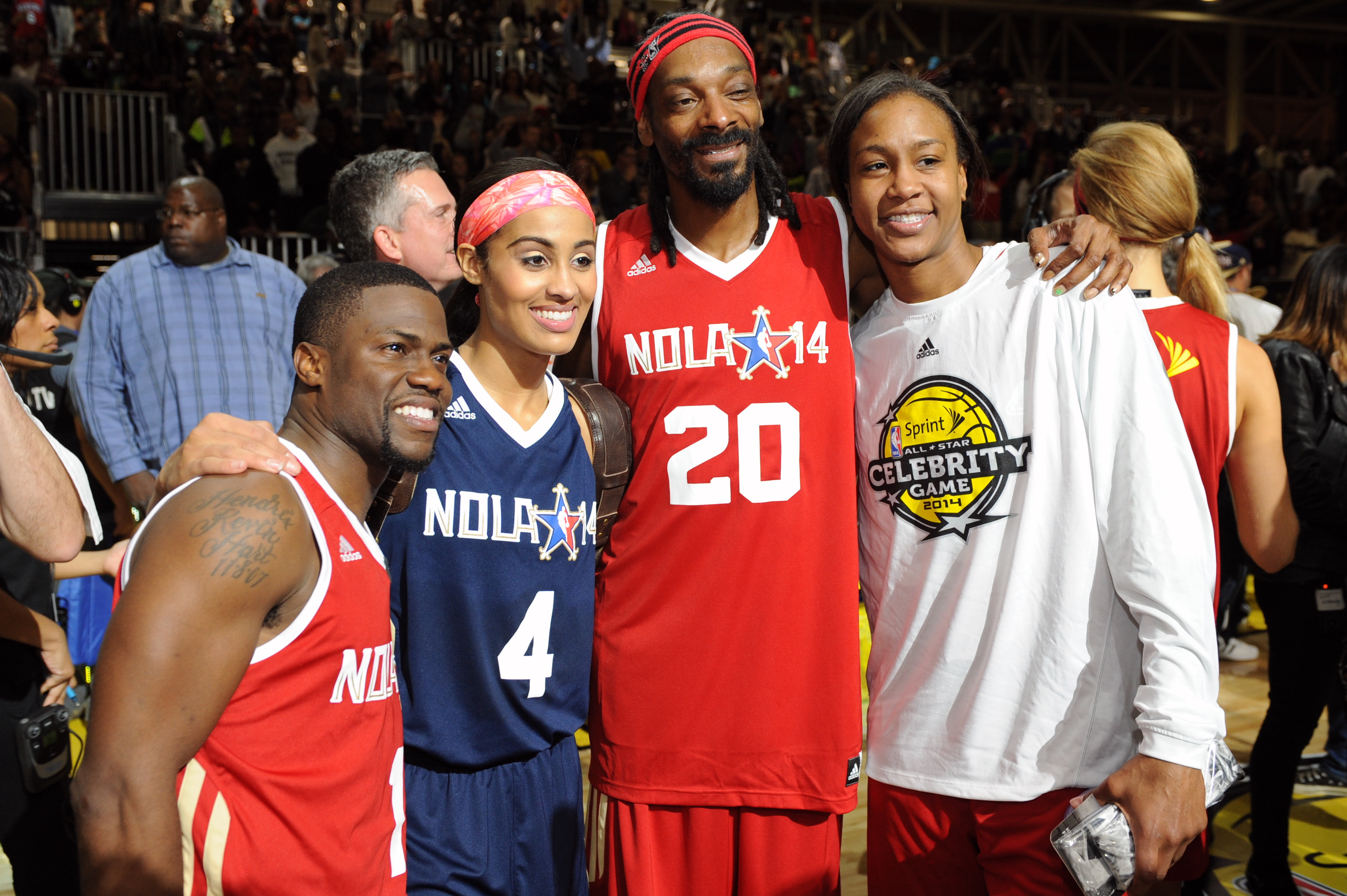 Full celebrity nba game