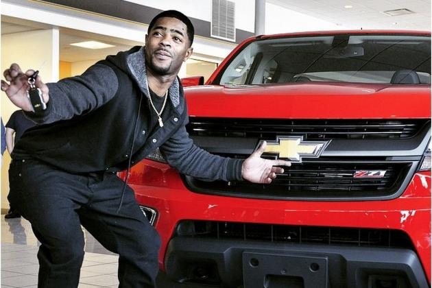 Chevy Presents Malcolm Butler with Tom Brady's MVP Truck