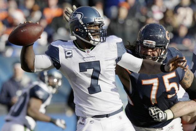Seattle Seahawks Beat Bears in Chicago, Reach .500 Mark on Season
