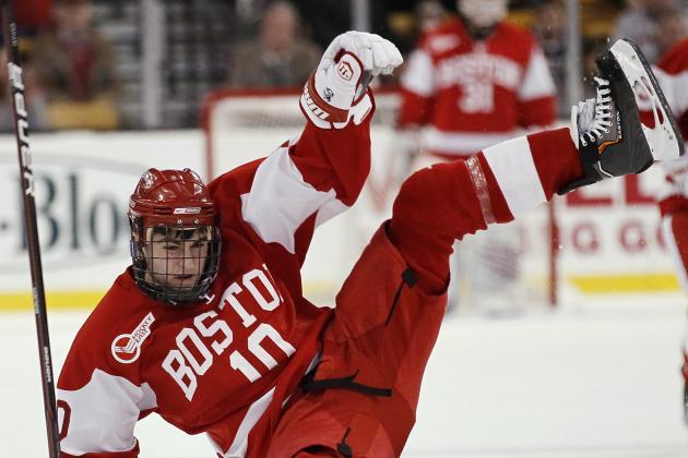 Boston University Boots Corey Trivino from Team After Arrest on Sunday Night