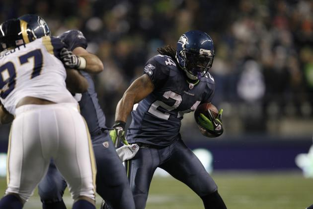 Marshawn Lynch, Seahawks Sweep Rams with 30-13 Victory on Monday Night Football