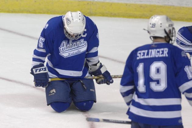 Alabama-Huntsville Dropping Men's Ice Hockey as NCAA Sport