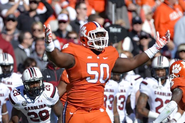 Cheap NFL Jerseys Outlet - 2015 Atlanta Falcons Potential Draft Pick Profile: DL Grady ...
