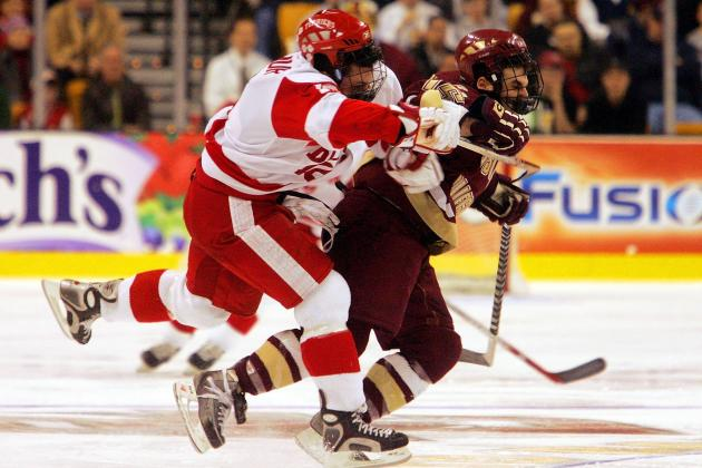 Boston College Hockey: Eagles Rebound to Split with BU Terriers, 6-1