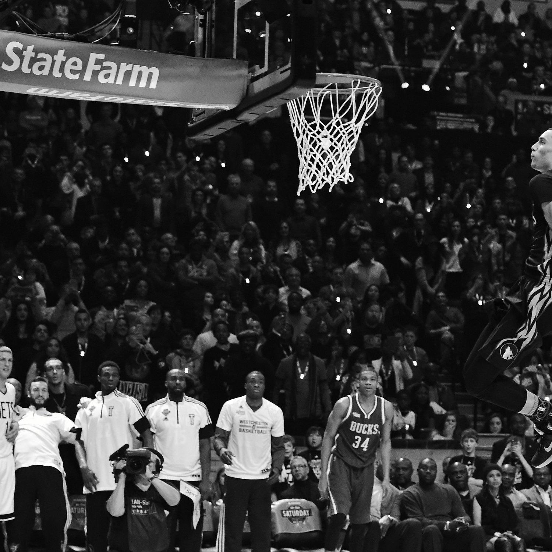Zach LaVine's 2015 NBA Slam Dunk Contest Triumph Ranks
