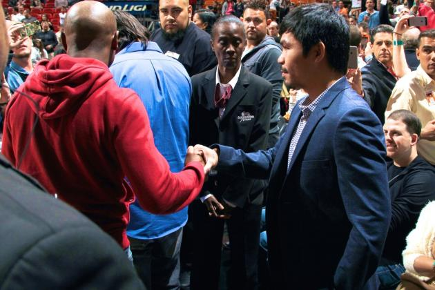 Complete Timeline of the Floyd Mayweather Jr.-Manny Pacquiao Saga