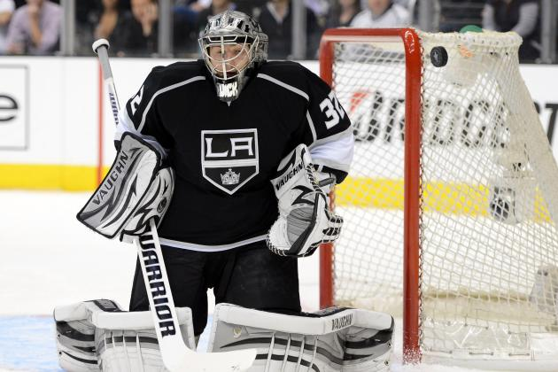 UMass' Quick Backstops Kings to Western Conference Finals