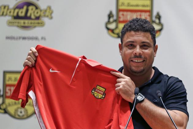 Ronaldo Confirms He Will Come out of Retirement with Fort Lauderdale Strikers