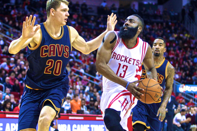 Cleveland Cavaliers vs. Houston Rockets: Live Score, Highlights and Analysis | Bleacher Report