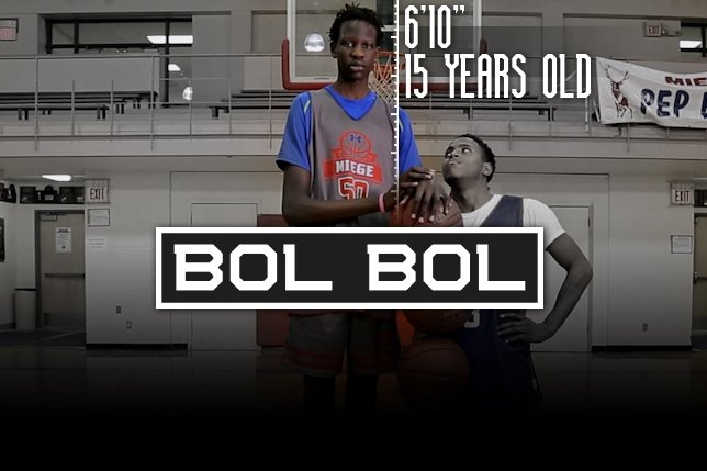 Finishing a father 39 s dream manute bol 39 s son could be a 7 for H s bains sons