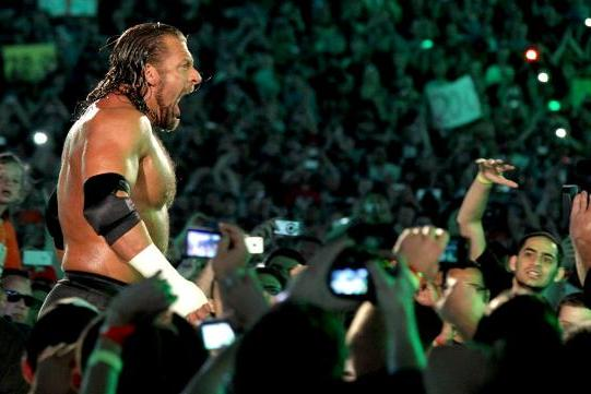 WWE Superstar Triple H Exclusive: On Arnold, Aging and Wrestling Sting