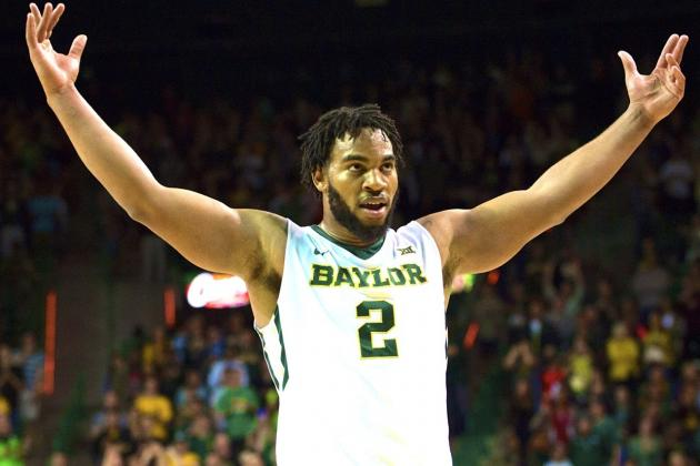 Baylor's Rico Gathers a Man Among Boys in Basketball, May Face NFL Dilemma