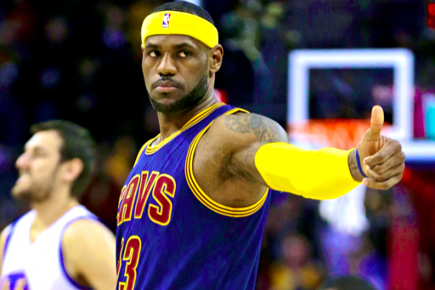 The Case for LeBron James to Win NBA MVP Yet Again