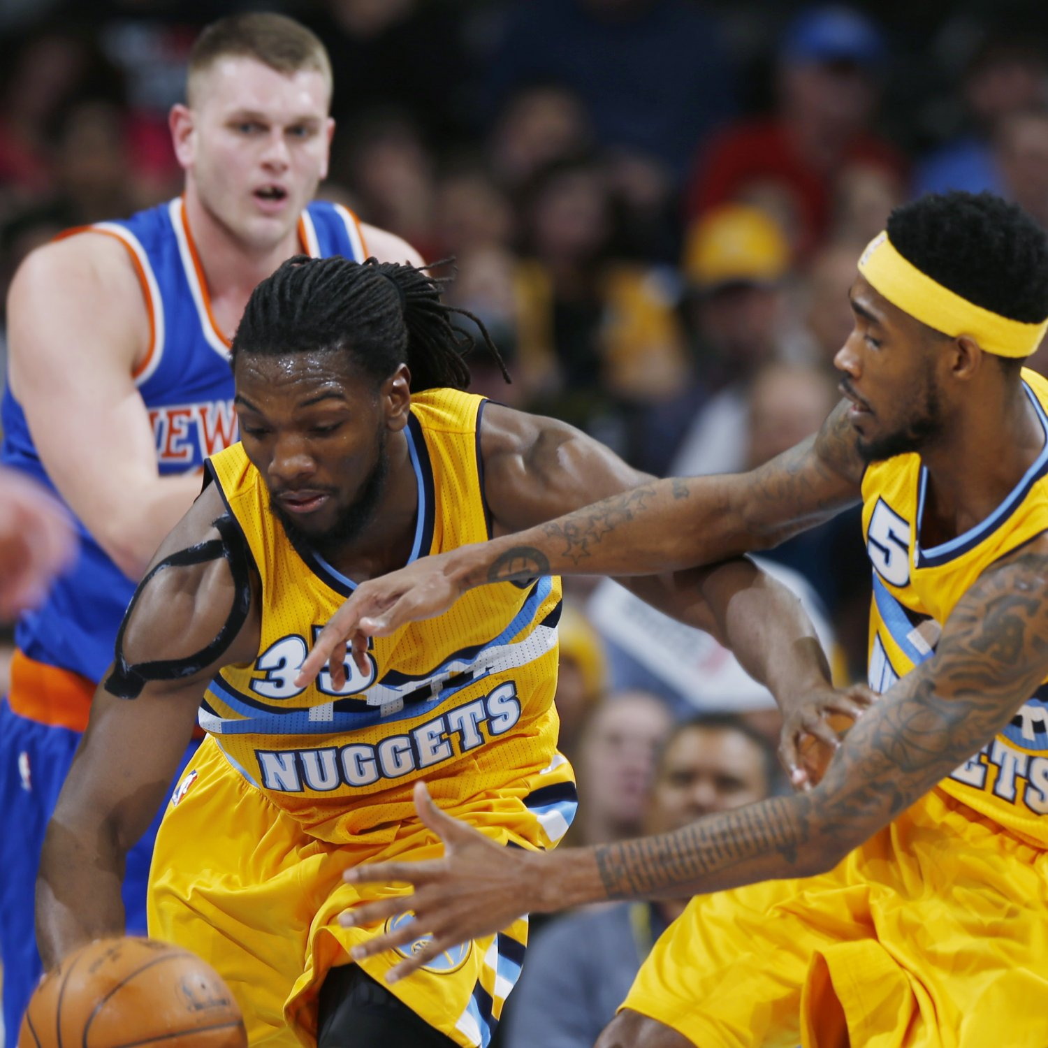 New York Knicks Vs. Denver Nuggets 3/9/15: Video