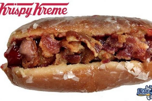 A Minor League Baseball Team Is Selling a Terrifying Bacon Doughnut Hot Dog