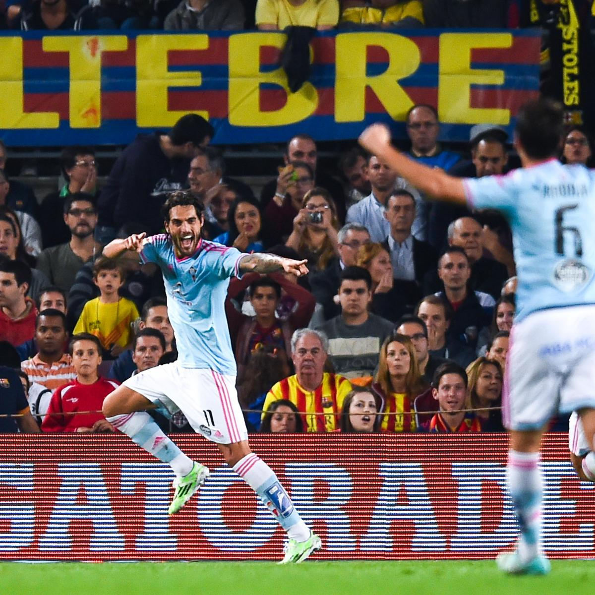 Celta Vigo Vs Barcelona Direct: Celta Vigo Vs. Barcelona: Team News, Predicted Line-Ups
