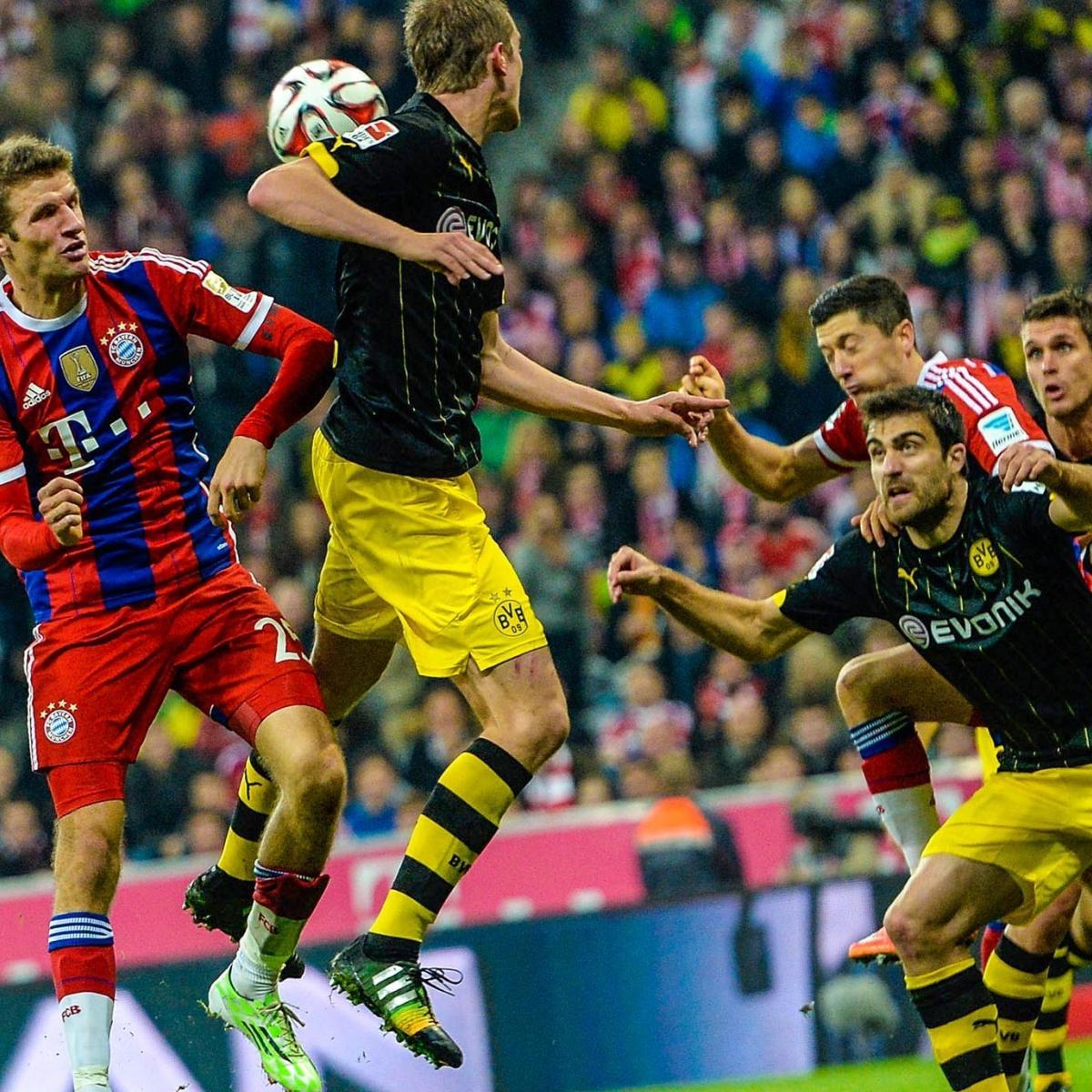 Liverpool 4 0 Borussia Dortmund Match Report Philippe: Borussia Dortmund Vs. Bayern Munich: Live Score