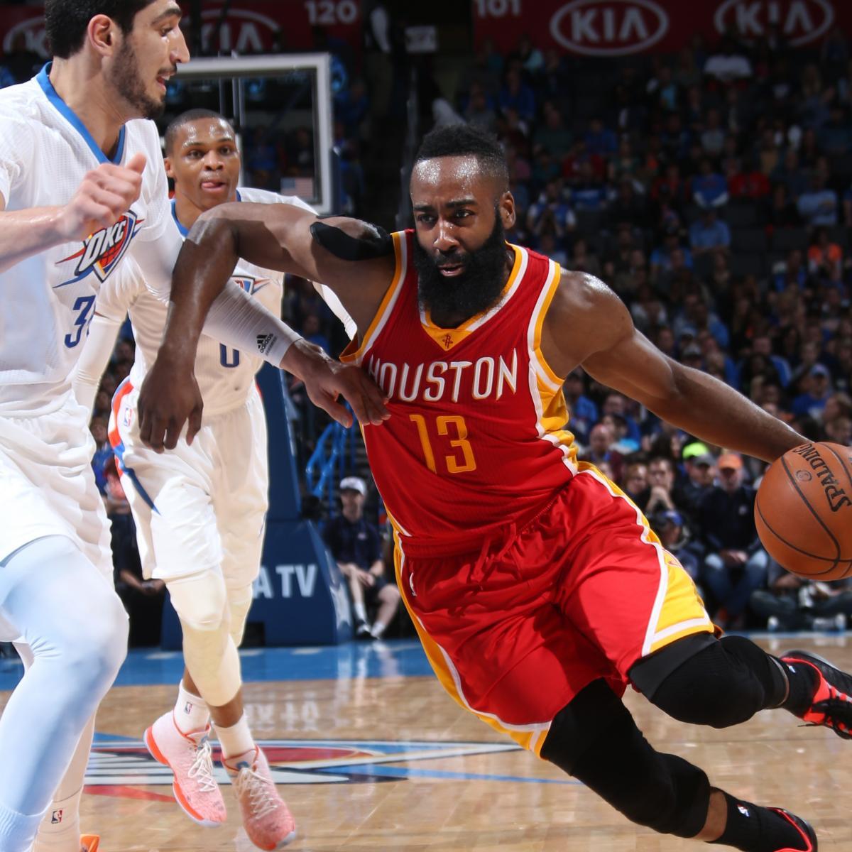 Houston Rockets Vs Oklahoma City Thunder: Houston Rockets Vs. Oklahoma City Thunder: Postgame Grades