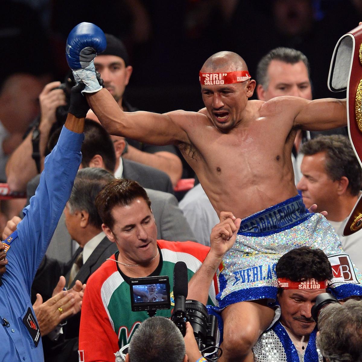 Rocky Martinez and Orlando Salido get Split Draw - video ...