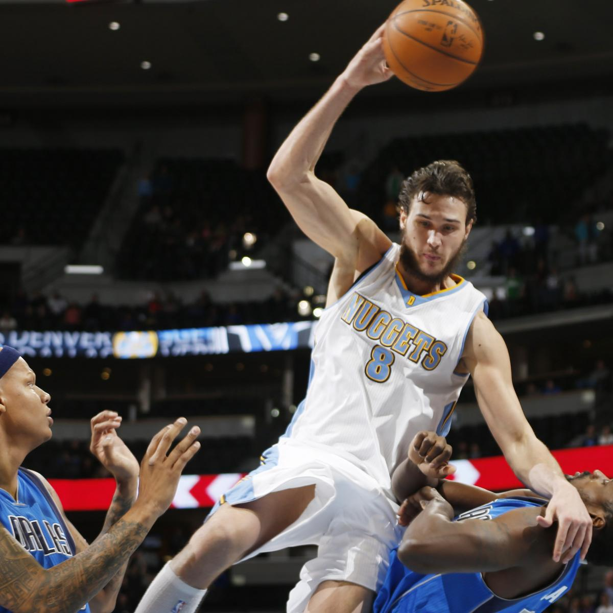 Dallas Mavericks Vs. Denver Nuggets 4/10/15: Video